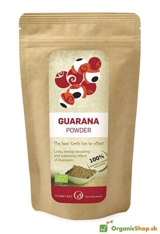 Guarana bio prášok 100g