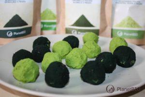 Zelené dezerty zo spiruliny a jačmeňu
