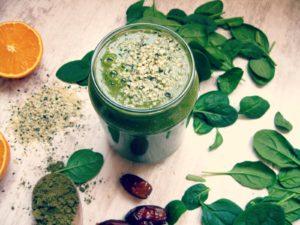 Zelené smoothie s bio spirulinou
