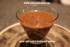 Konopný nápoj bio