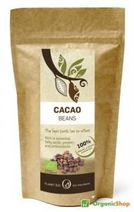 nepražené kakaové bôby BIO